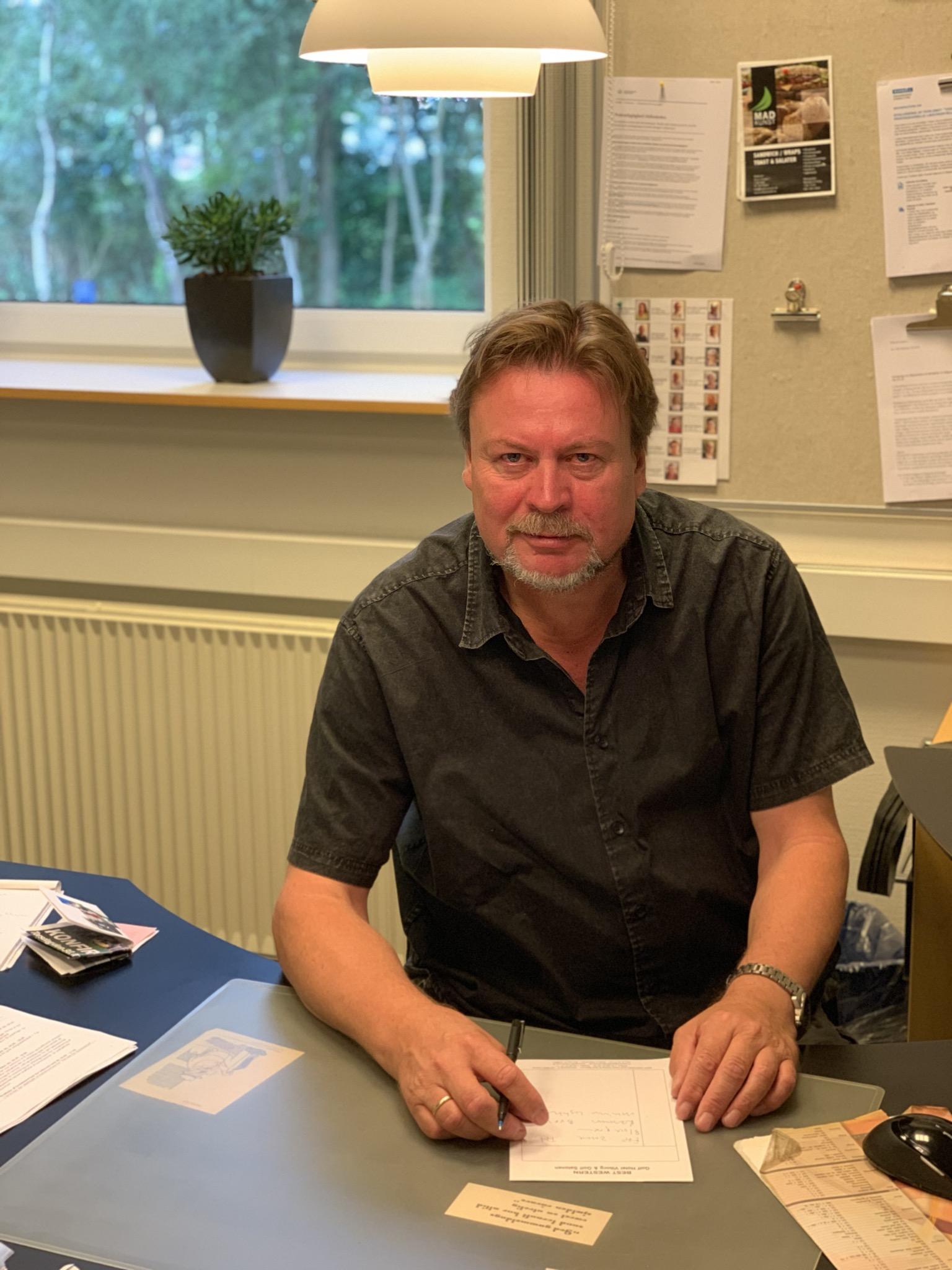 Hans Mosegaard. Tlf. 21771322